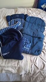 Cosy toes - foot muff, pushchair cover bundle