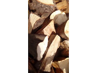 FIRE LOGS (FIREWOOD) - bulk load seasoned and dry for wood burners and open fires, ready for use
