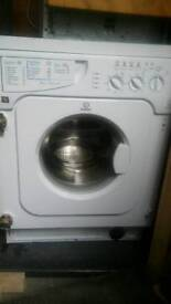 Washing machine Integrated oven gas hob cooker hood
