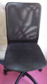 Ikea swivel office desk chair good condition