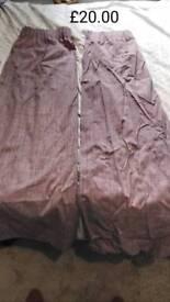 Lilac blackout curtains