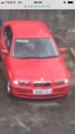 BMW parts for sale seats /back seats / lights / no engine / shell is good condition