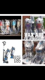 Delivery &a warranty refurbished Hoovers vacuums