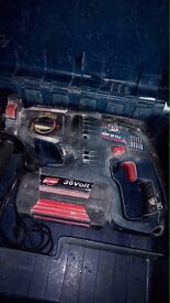 Bosch GBH 36V-LI Professional Hammer Drill Cordless With Case & Accessories