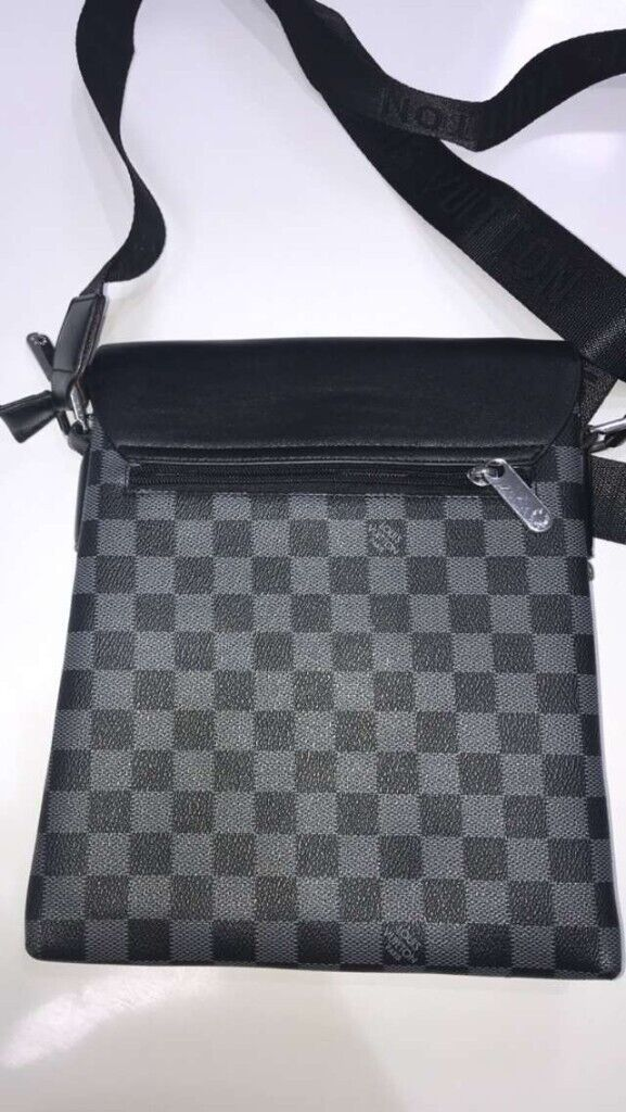 100% original search for original luxuriant in design Mens Louis vuitton LV pouch side messenger bag pouch black monogram | in  Leicester, Leicestershire | Gumtree