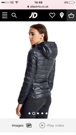 Ea7 train core fitted jacket