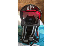 CHICCO CADDY SPORT BACKPACK BABY CARRIER, LIKE NEW