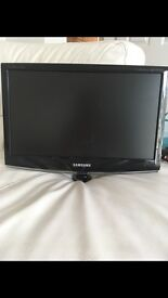 20'' Black Samsung Freeview TV