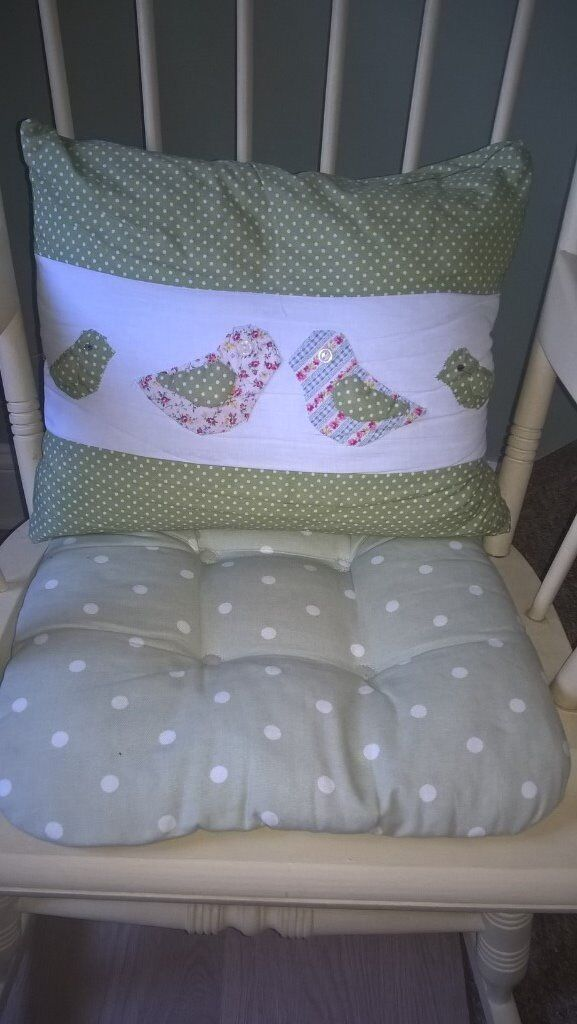 Shabby Chic Rocking Chair And Cushions In Lowestoft Suffolk Gumtree