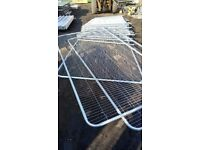 HERAS FENCING 3450 X 2000mm USED , FREE DELIVERY!