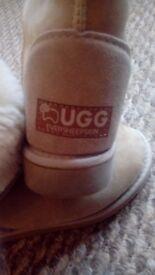 Size 3 sheepskin ugg boots