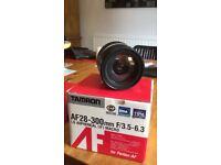 tamron af 28-300mm f/3.5-6.3 LD for pentax