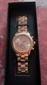 rose gold avon virgina watch