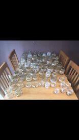67 Wedding Jars Handmade Vintage Theme