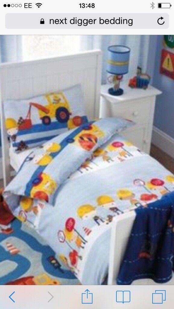 Digger design bedding from Next