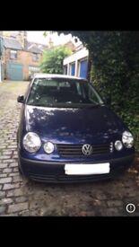 VW Polo 2005 - Blue