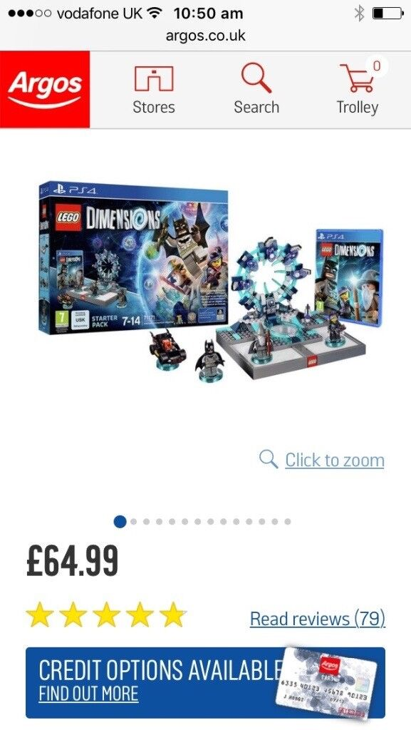 Lego dimensions bundle for PS4