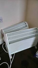 Electric heaters x 2
