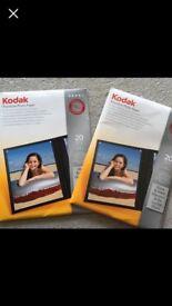 Kodak A4 Photo paper