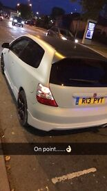 Honda civic type r modified one off