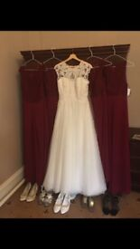Wedding dress size 12 - Maggie Sottero, Chandler
