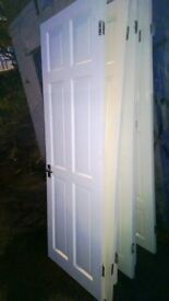 White Glossed Interior OTHERS DOORS All fittings handles Hinges ready to Hang