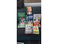 FAB COLLECTION OF FOOTBALL BOOKS/ LEGENDS/HISTORY/SKILLS SET DVD GREAT COLLECTION ONLY £10