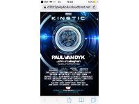 4 x Paul Van Dyk - Kinetic Global Gathering