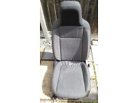 VW UP Cloth OS Right driver seat with airbag