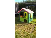 Little tikes playhouse-outdoor garden toy.