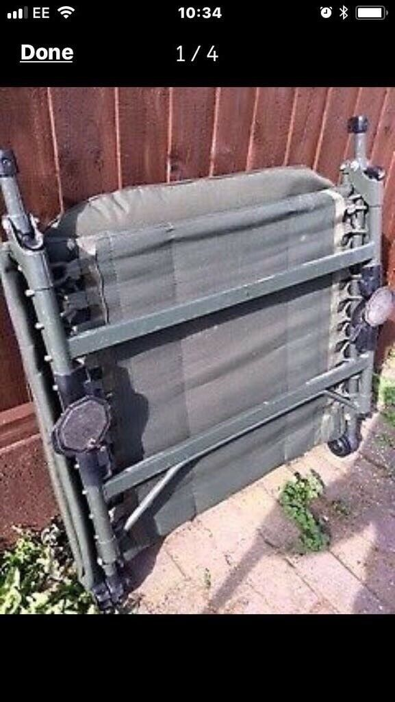 Nash outlaw fishing chair bed