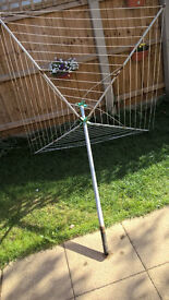 4 Arm Rotary dryer/airer