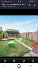 Semi-detached 2 bedroom house for rent