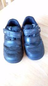 Boys start-rite black shoes, size 9G