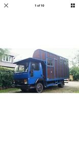 Ford Iveco Cargo 813 horsebox