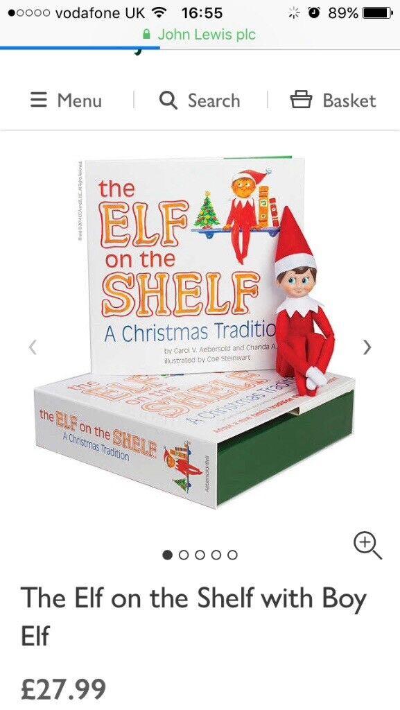 Elf on a shelf set