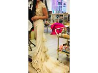 Stunning wedding dress size 8-10