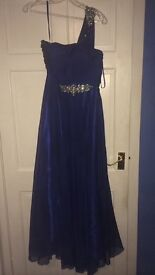 Beautiful Royal blue occasions dress