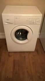 Whirlpool washing machine top condition hardly used house move forces sale