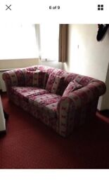 3 SEATER SOFA CHESTERFIELD STYLE - can deliver see description