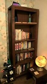 Dark Maple Bookcase
