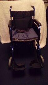 Wheelchair Lightweight Z-Tec Aluminium Transit