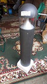 outside electric bollard lamp