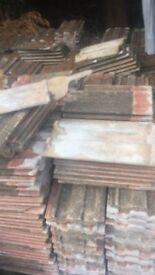 About 1100 roof tiles for sale