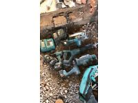 Makita and Hilti Selection of power tools ideal for apprentice joiner