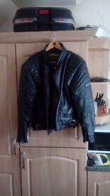 Motorcycle leaher jacket