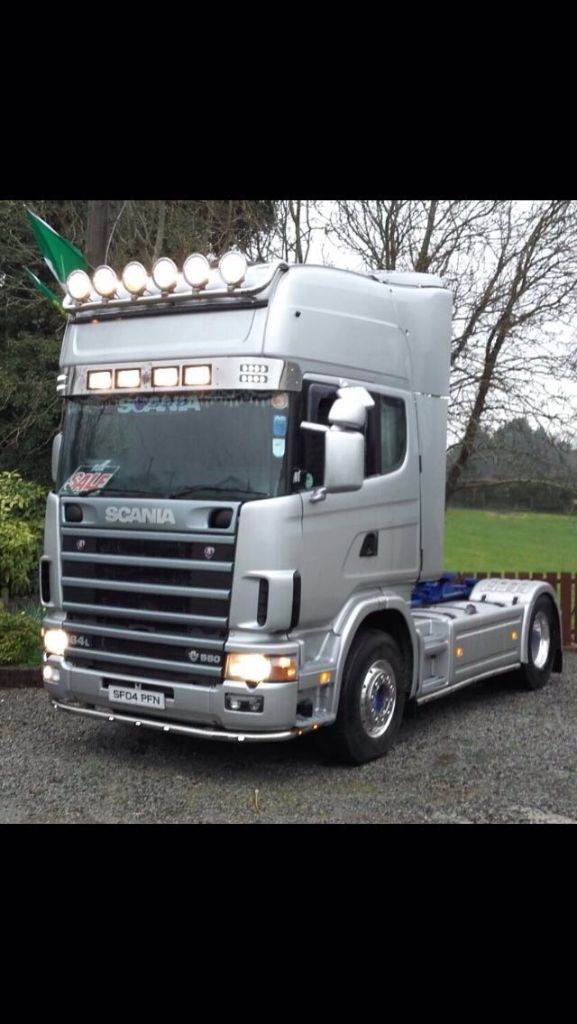 Mot Centre Newry >> 2004 scania 164 v8 580 | in Belfast City Centre, Belfast ...