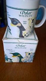 WWF Polar Wildlife Mug As New & Boxed