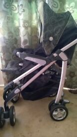 silver cross 3D travel system buggy pushchair seat civer bag