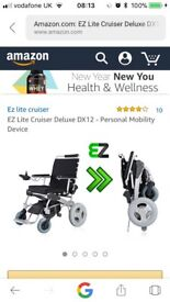 EZ LIGHT ELECTRIC WHEELCHAIR
